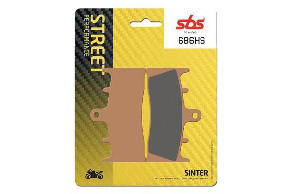 SBS 686HS FA188 BRAKE PADS