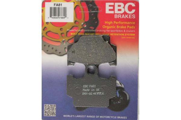 EBC DICS PADS FA 81