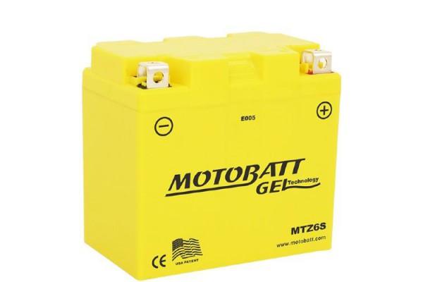 MOTOBATT MTZ6S GEL BATTERY