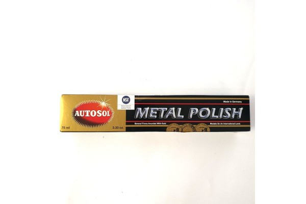 AUTOSOL-METAL POLISH 75ML TUBE