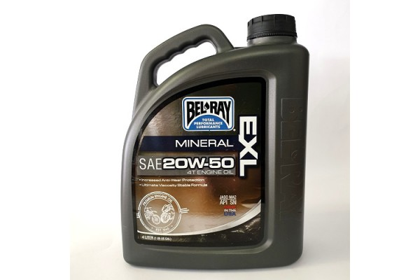BEL RAY EXL MOTOR OIL 4LT