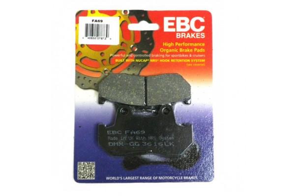 EBC BRAKE PADS FA069
