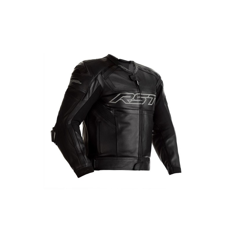 RST TRACTECH EVO R STEALTH LEATHER JACKET