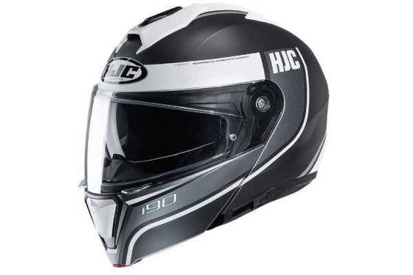 HJC I-90 DAVAN BLACK WHITE...