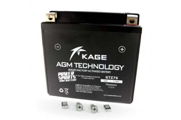 KAGE KGTZ7S GEL BATTERY