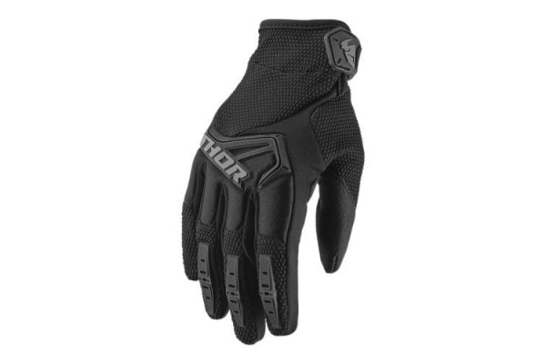 THOR S9 GLOVE SPECTRUM BLACK