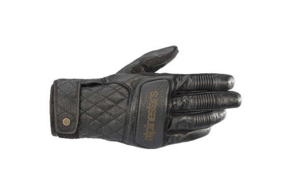 ALPINESTARS BRASS LEATHER...