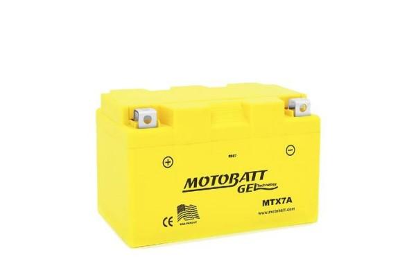 MOTOBATT GEL MTX7A YTX7A-BS...