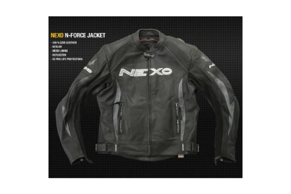 NEXO N-FORCE LEATHER JACKET